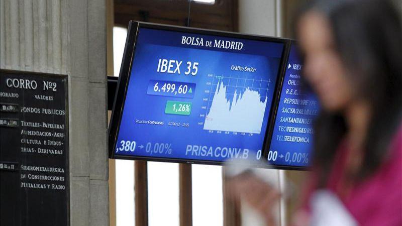 El Ibex remonta otro 0,73% a pesar del lastre de los bancos