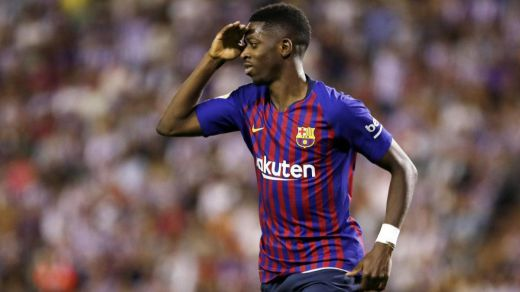 La delantera del Barça, en cuadro: Dembélé estará 5 semanas de baja