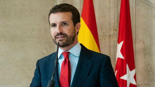 Casado insiste en presionar a Ciudadanos con la coalición 'España Suma' para un