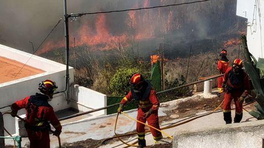 Incendio de Gran Canaria: muchos de los evacuados vuelven a casa porque