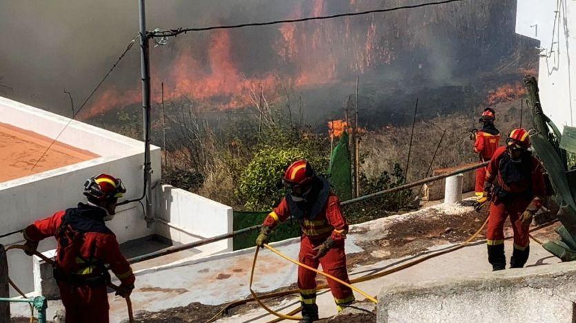 Incendio de Gran Canaria: muchos de los evacuados vuelven a casa porque 'estamos venciendo el fuego'
