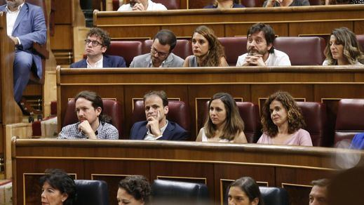 Sin divisiones internas: Iglesias ata de cerca a Garzón y otros socios de Unidas Podemos para forzar al PSOE