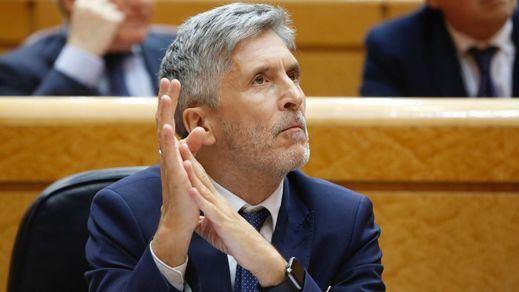 El ministro del Interior, Marlaska, asegura que cuando va por el centro de Madrid se pasa la cartera