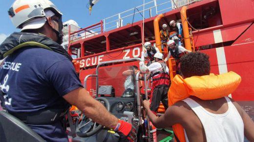 El 'Ocean Viking' de Médicos sin Fronteras podrá desembarcar sus 356 rescatados en Malta