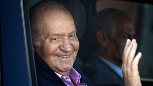 El rey Juan Carlos, estable tras la