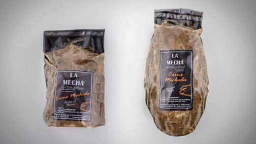 La carne mechada de marca blanca, también contaminada por la listeria