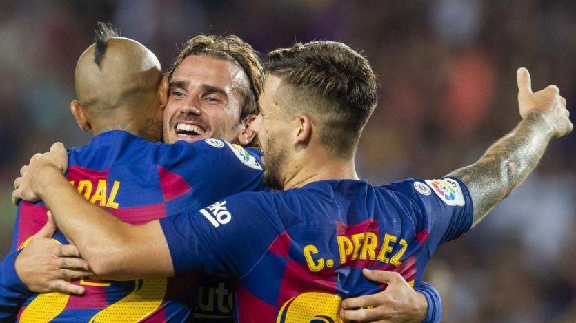 Barça y Atleti ganan pero el Sevilla acaba líder antes del parón de selecciones