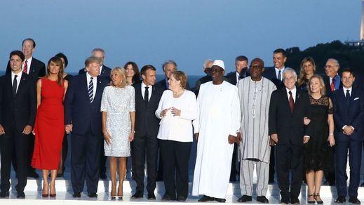 Sánchez, invitado por Macron a la cena de clausura del G-7, pide a Reino Unido un