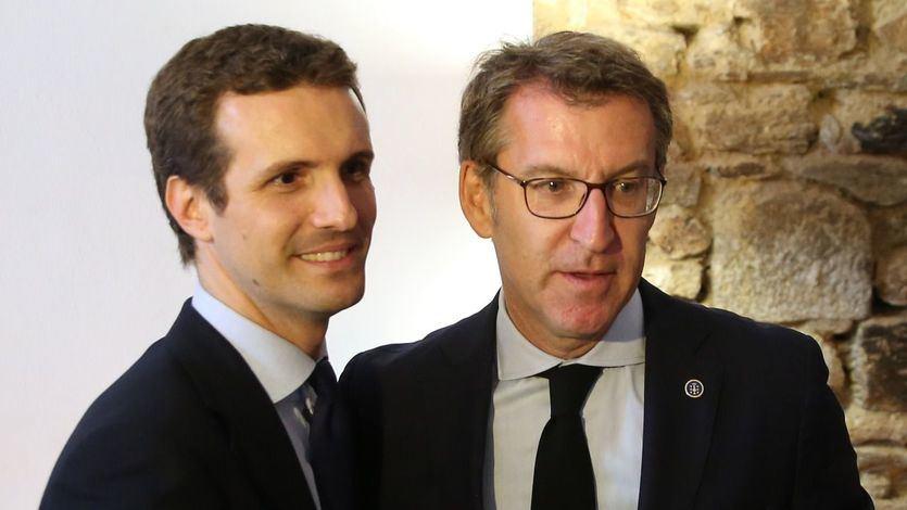 Feijóo para los pies a Casado y sus planes de coalición con 'España Suma'
