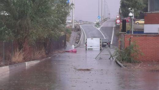 No es Asia, es España: así fueron los terribles daños de las fuertes tormentas a su paso por Madrid