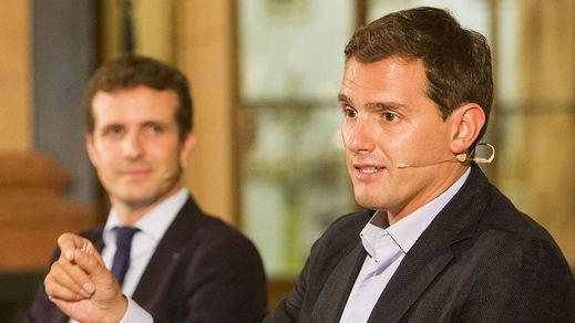 Respuesta salomónica de Rivera a Casado: coalición, sí, pero sólo en Euskadi y Navarra