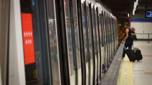 Avería en la línea 7 de Metro de Madrid: se interrumpe el servicio