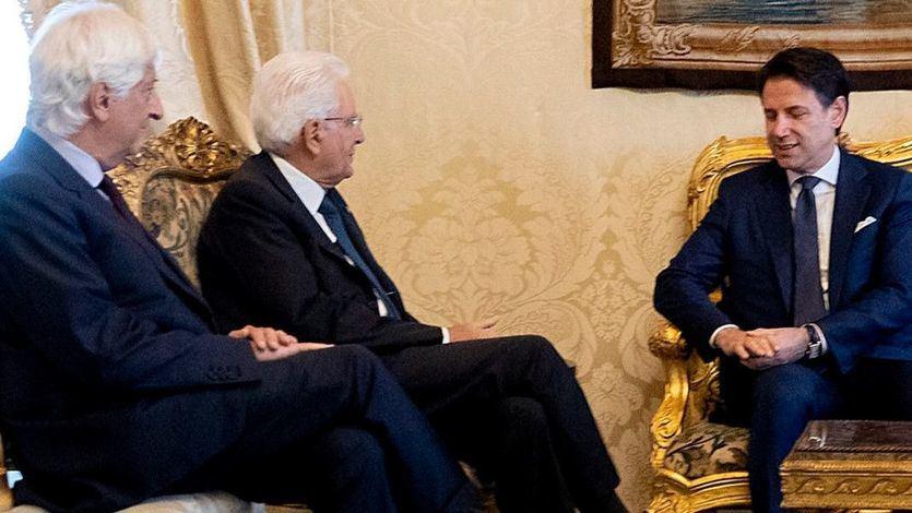 Mattarella y Conte, en uno de los encuentros en el palacio del Quirinale