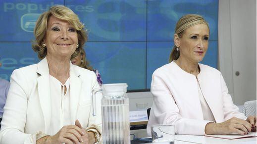 Aguirre y Cifuentes, a punto de ser imputadas por la financiación ilegal del PP madrileño