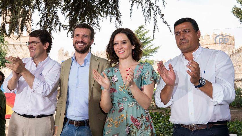 Casado intenta acallar las críticas: 'Allá donde el PP ha sumado, España ha ganado'