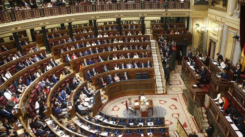 Sesión constitutiva del Congreso