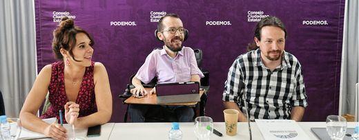 Crece la presión en torno a Podemos tras las reuniones del PSOE con ERC, PNV y PRC