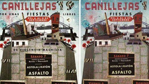 El Ayuntamiento de Madrid elimina el lema (obligatorio) 'Por unas fiestas libres de violencia machista' del cartel de Canillejas