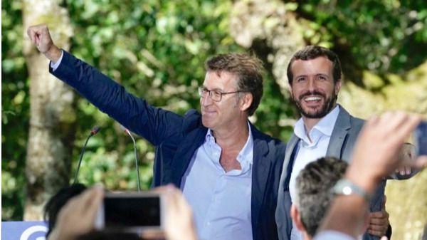 Feijóo le recuerda a Casado que 'la suma en Galicia es el PP'