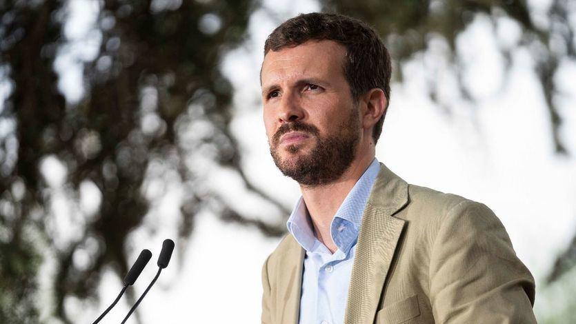 Casado responde a Sánchez: 'El riesgo cierto para España es él'