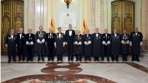 El poder judicial arranca el curso con referencias al procés y al bloqueo político