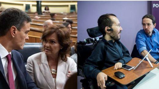 PSOE y Podemos retoman las negociaciones este martes