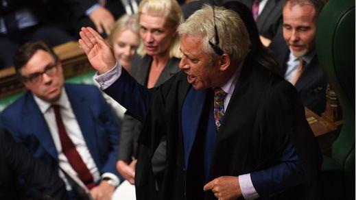 El 'speaker' del Parlamento británico anuncia el fin de su mandato