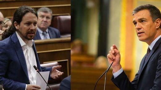 El duelo Sánchez-Iglesias en el Congreso constata la ruptura entre PSOE y Podemos