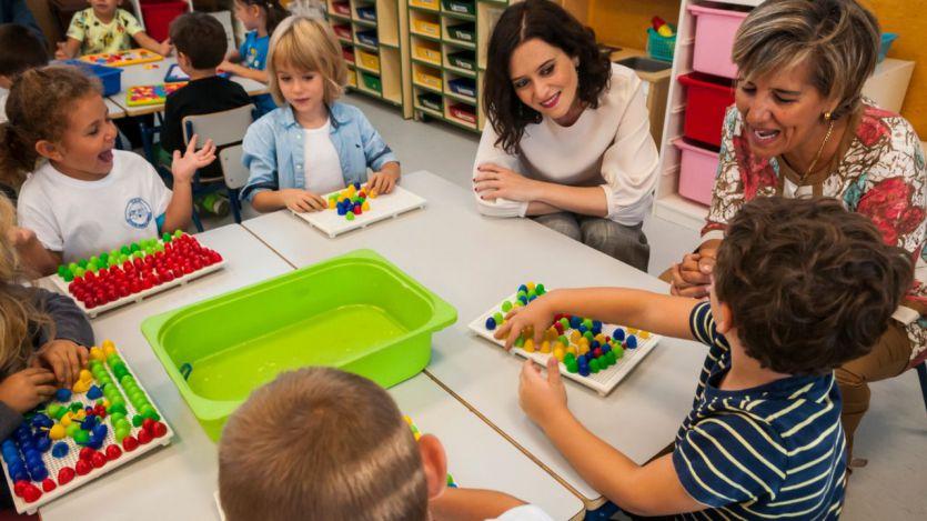 Isabel Díaz Ayuso presenta el inicio del curso escolar y el Plan de fomento de la lectura