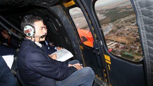 Sánchez visita las zonas afectadas por temporal