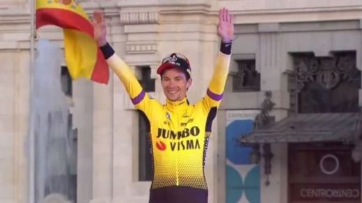 Primoz Roglic, ganador de La Vuelta Ciclista a España 2019