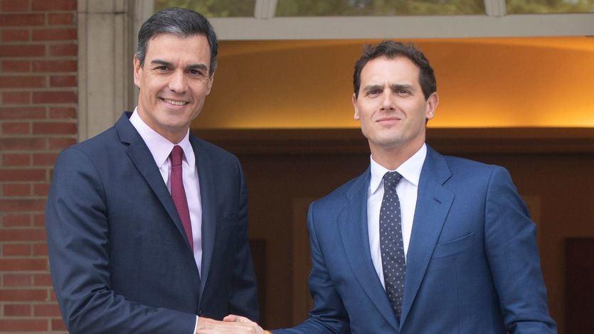 Las frases con las que Rivera insistía en que no levantaría el veto a Sánchez