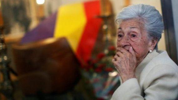 Fallece Ascensión Mendieta, la hija que abanderó la lucha de las víctimas del franquismo