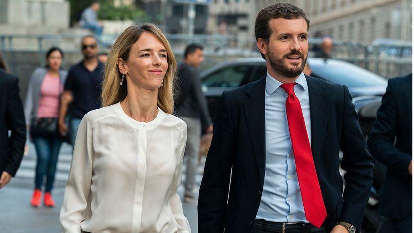 Cayetana Álvarez de Toledo y Pablo Casado