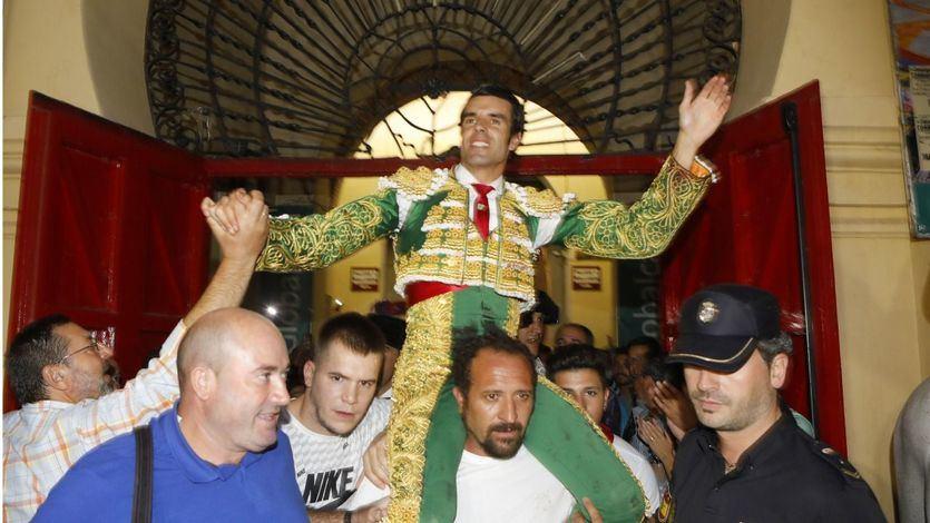 Emilio de Justo, que se presentaba en Albacete, salió a hombros