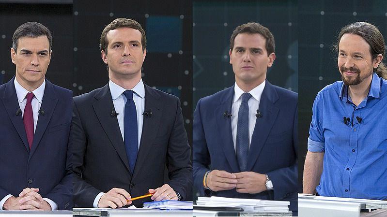 Sánchez hace su propia ronda de consultas con Iglesias, Rivera y Casado antes que el rey