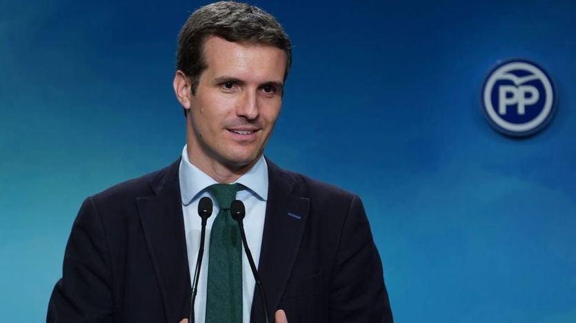 Casado reitera a Sánchez el 'no' del PP a su investidura