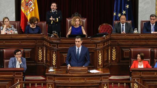 Sánchez, contra todos en la sesión de control: 'Tres fuerzas políticas han bloqueado el Gobierno'