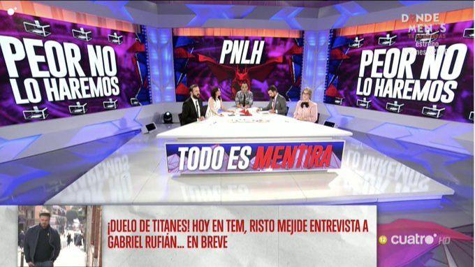 Risto Mejide lanza un nuevo partido político en 'Todo es Mentira'