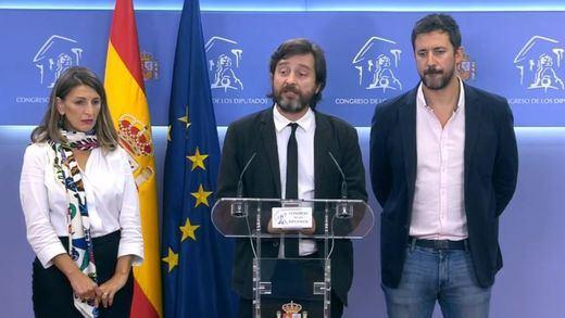Tres diputados de Unidas Podemos, investigados por