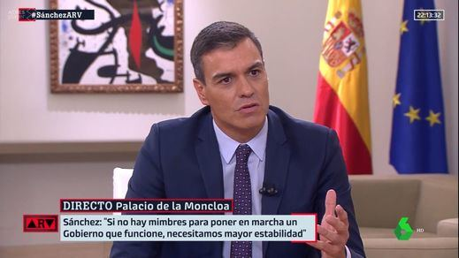 Sánchez asegura que no dormiría por la noche con un gobierno de coalición con Podemos