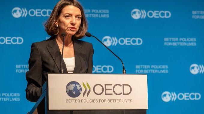 Laurence Boone, economista jefe de la OCDE