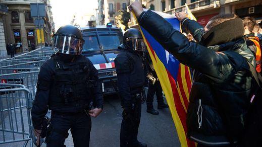 Detenidos 9 independentistas con material explosivo acusados de terrorismo