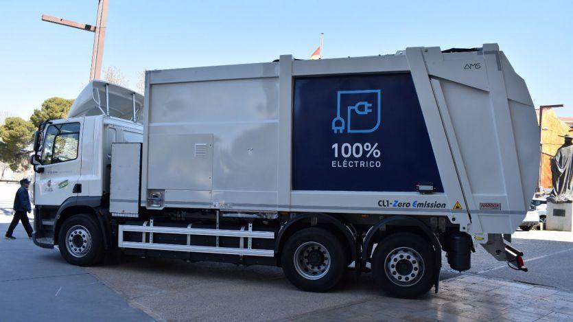 Valoriza camión eléctrico recogida de residuos