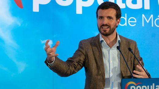 Casado intenta 'absorber' a Cs y Vox: