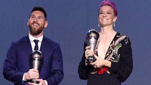 El controvertido premio The Best a Leo Messi en uno de sus años más flojos