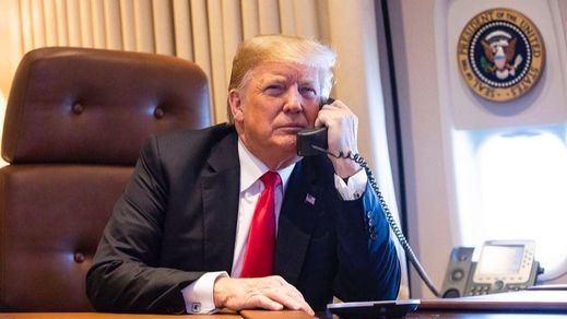 Sale a la luz la conversación en la que Trump pide al presidente de Ucrania que investigue a Biden