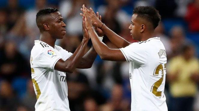 El Real Madrid se coloca líder en solitario con 2 baby-goles brasileños
