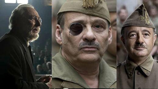 El estreno del momento: 'Mientras dure la guerra', la nueva de Amenábar en pleno proceso de exhumación de Franco