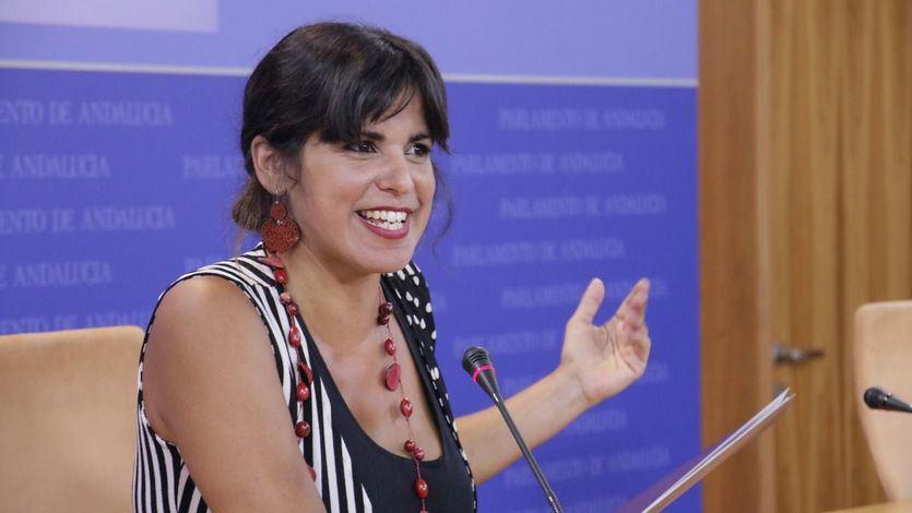 Teresa Rodríguez no se casa ni con Errejón ni con Iglesias: 'Queremos que Adelante Andalucía se presente a las elecciones'